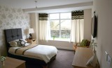 Bedroom at Lumb Valley Care Home